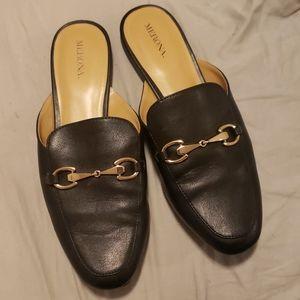 Merona slides loafers 9.5